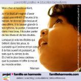 Lettre de gratitude à un enfant«difficile»