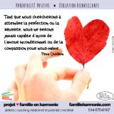 Citation: la beauté des imperfections